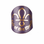 Cub of the month leather woggle