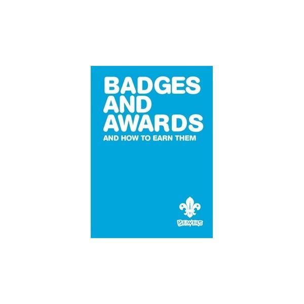 Beaver badge and awards Book