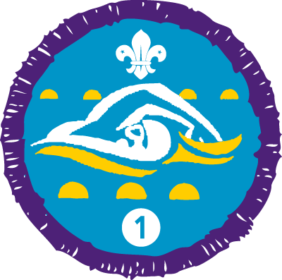 Swimmer Stage 1 Badge