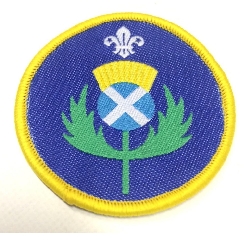 Cub Thistle Badge