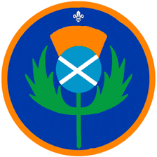 Scout Thistle Badge