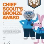 Chief Scout Award Certificate