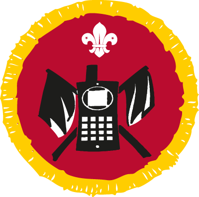 cub communicator activity badge
