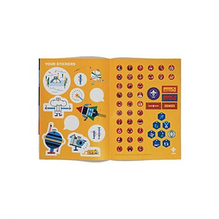 cub log activity book