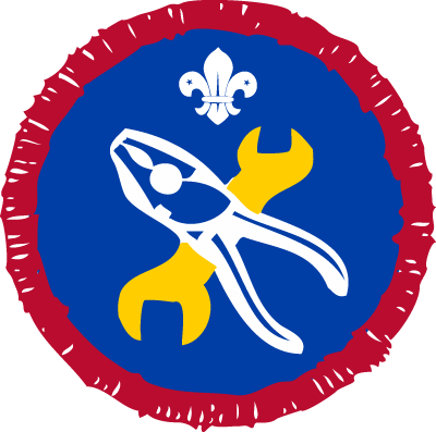 scout mechanic badge