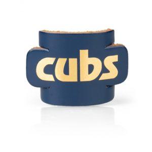 cub blue leather woggle