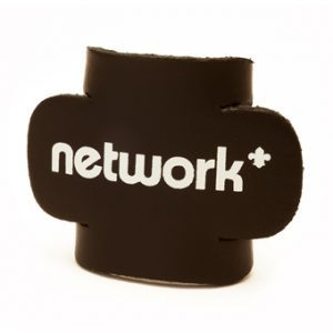 network leather woggle