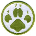 camp blanket badge cubs paw