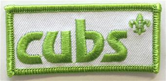 cub camp blanket badge