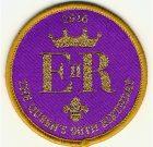 Camp Blanket Badge Queen's Birthday