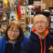 volunteers at the glenrothes scout shop