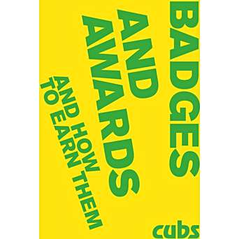 cub badge and awards book 2019