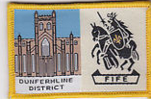 dunfermline scout district badge