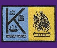 kirkcaldy scout district badge