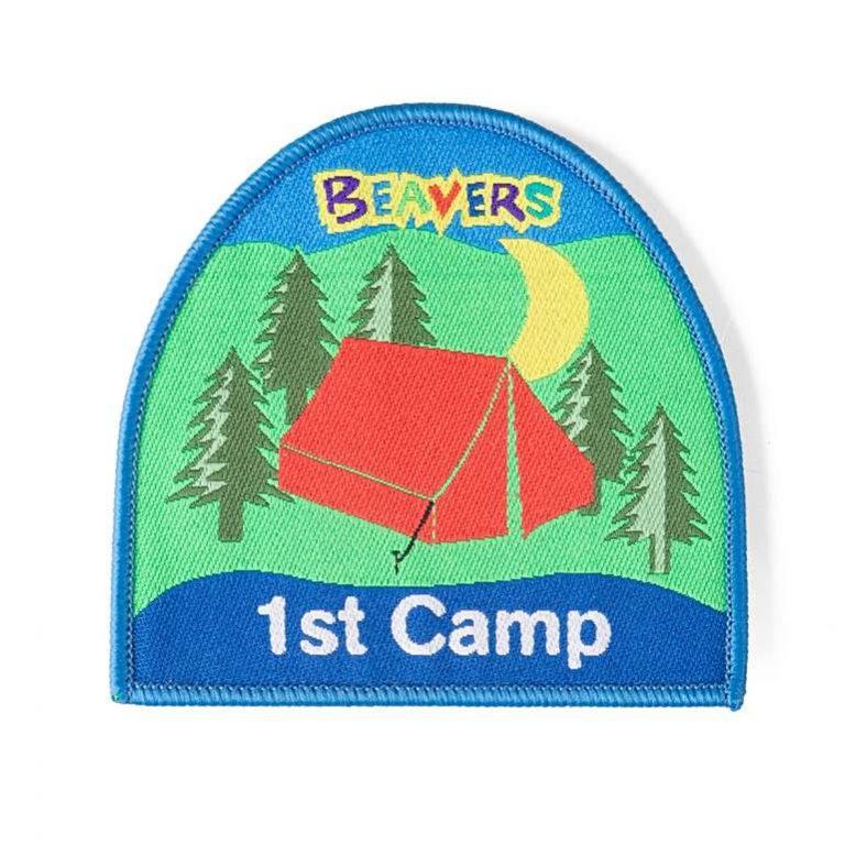 beaver_first_camp_badge