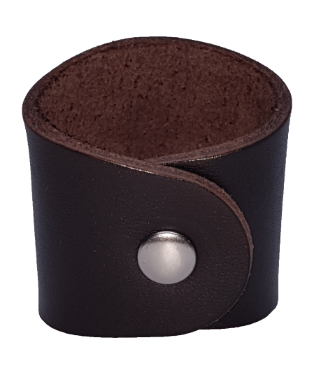 Leather Embossed Scout Woggle B