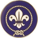 world scout pin badge