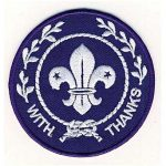 world scout thanks badge
